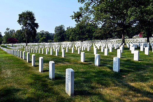 Arlington National Cemetery gravestones