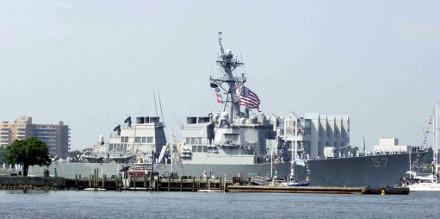 Harborfest destroyer