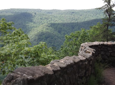 Crabtree Falls overlook