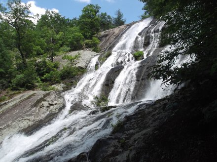 Crabtree Falls top cascade